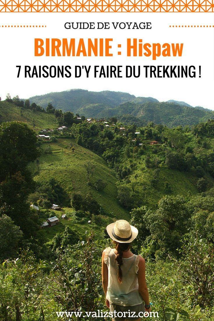 La région de Hsipaw est très réputée pour ses paysages ! J'ai donc choisi l'option 2 jours de trekking, avec 7 à 8 h de marche par jour + une nuit chez l'habitant. Il y a d'autres options à la journée, ou jusqu'à 3 jours de trekking. Si jamais vous allez en Birmanie, je vous conseille vraiment de vous réserver du temps pour passer à Hsipaw, c'est une expérience magnifique ! #birmanie #myanmar #voyageennbirmanie #birmaniepaysages #hsipaw #trekking #bagan #partirenbirmanie