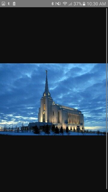 Rexburg temple Idahome