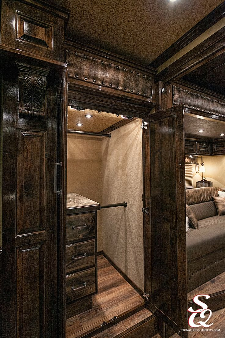 Love the space in this closet!