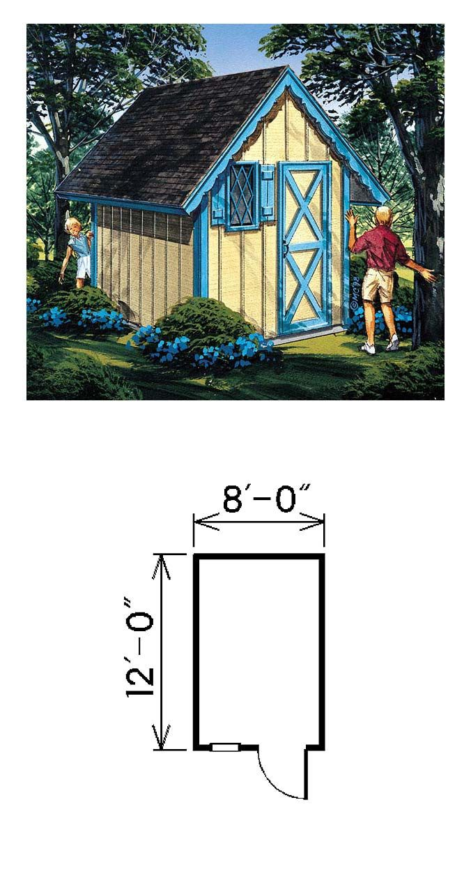 19 Best Images About Playhouse Plans On Pinterest