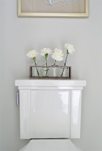 Best 25 bathroom flowers ideas on pinterest - Decoration toilette ...