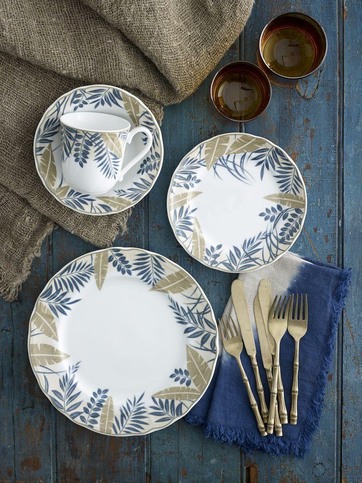 Noritake Batik Garden a new dinnerware range styled and photographed by Brandee Meier www.brandeemeier.com.au