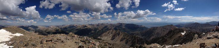 View from La Plata Peak