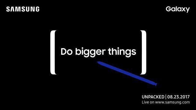 Samsung lanzará el Galaxy Note 8 el 23 de Agosto y se filtran sus especificaciones