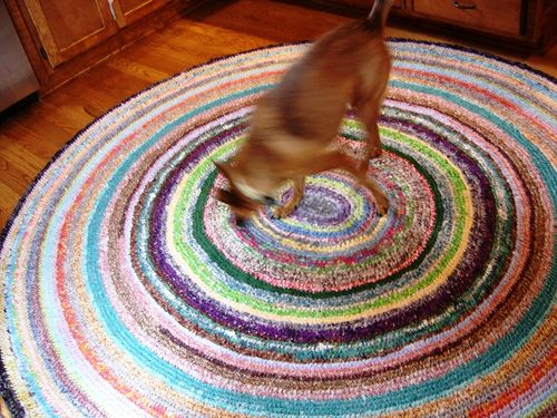 I Am Determined To Make A Rag Rug   Although It Wonu0027t Be This