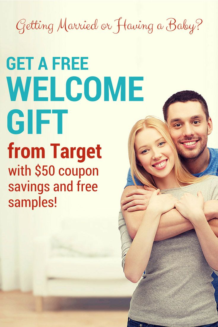 Get $60 in coupons and more from @Target, registry freebies- wedding and baby-->