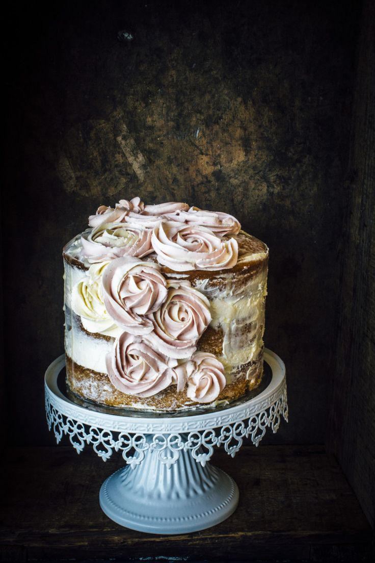 Vanilla And Earl Grey Cake