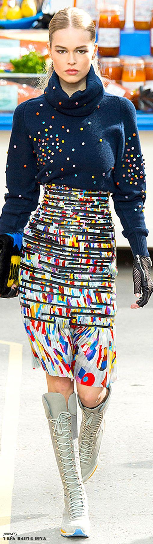 Paris Fashion Week #Chanel Fall/Winter 2014 RTW