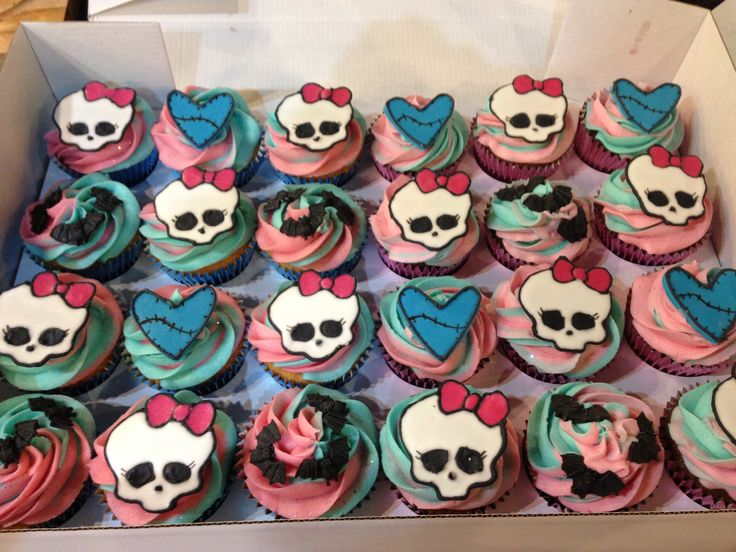 Monster High Cupcakes