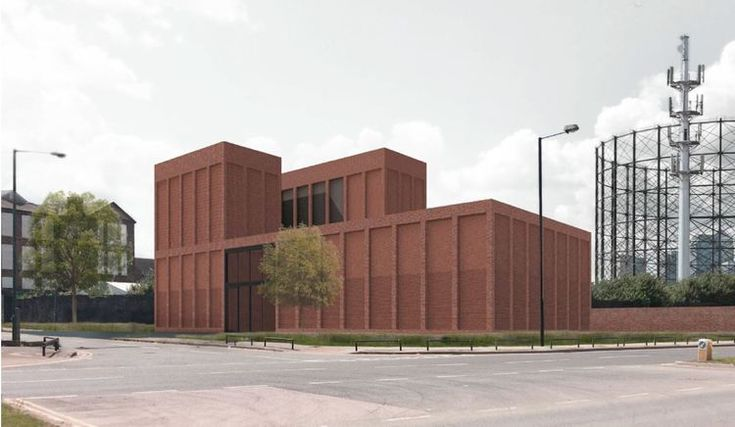 Electricity Substation (UKNP/Nord Architecture)