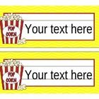 I made these to use in my Hollywood classroom.  If you have this theme you may enjoy this.  Just type the names and print! Enjoy! Don't forget to f...