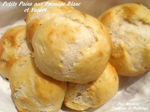 Petits Pains au Fromage Blanc et au Yaourt - Couscous et Puddings