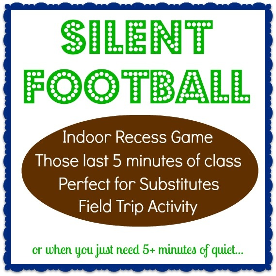 Best game for the classroom! Perfect for: Indoor Recess Game, Last 5 minutes, Substitutes, at a Field Trip, or to build classroom community.