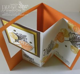 Debbie's Designs: Pop-Out Swing Card & Video!