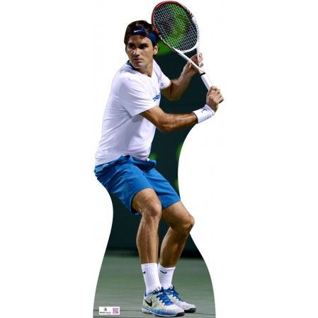 Roger Federer Lifesize Cardboard Cutout N143B   Height: 180cms - 6ft approx