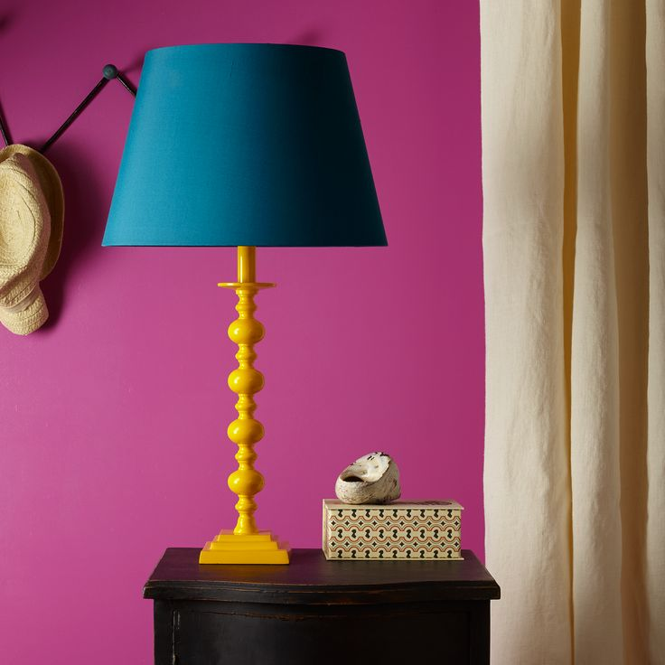 So imaginative are we that we decided to call this bright yellow lamp the Canary