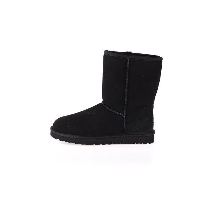 Sort Ugg Classic Short Boots