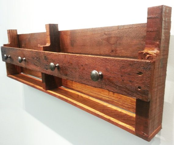 Wood Pallet Rustic Decor  36x11 in.  Cherry Stain by ModernCrowd, $99.00