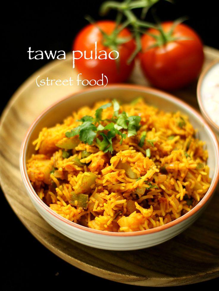 tawa pulao recipe | mumbai tawa pulao recipewith step by step photo and video recipe. tawa pulao is prepared with pav bhaji on streets of mumbai