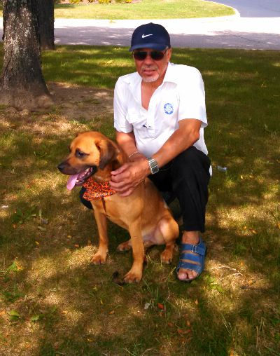 """Once-stray dog helps Air Force veteran cope with loss of """"perfect dance partner"""" 