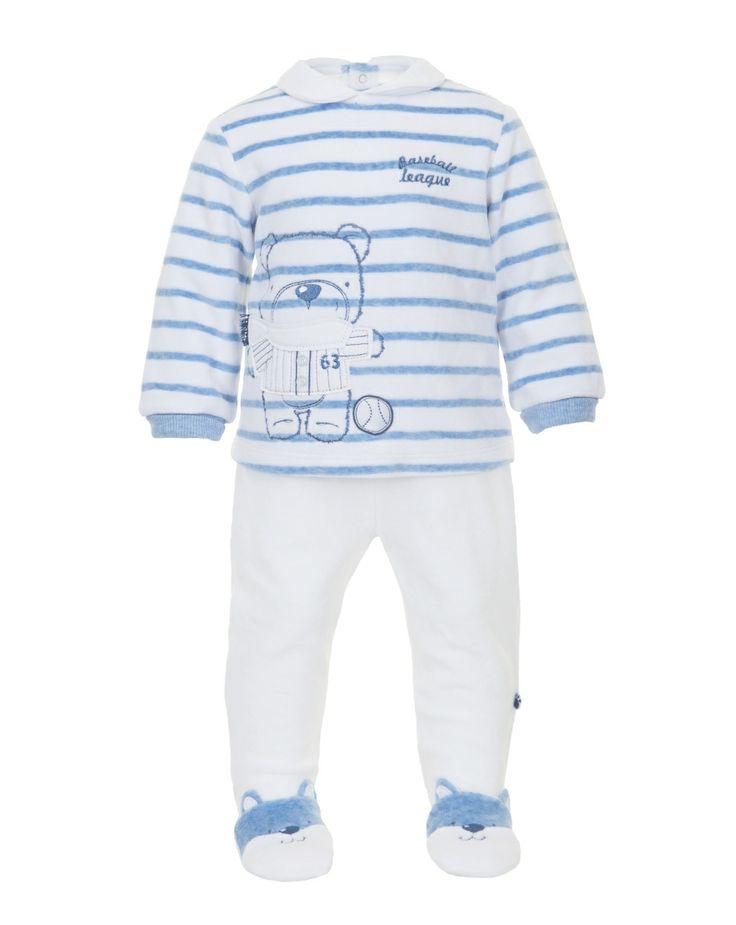 Prenatal - Moda Baby: abbigliamento da 0 ai 30 mesi per il tuo bambino, bimbo, bebè - Completi - Prenatal - Completo bianco e blu