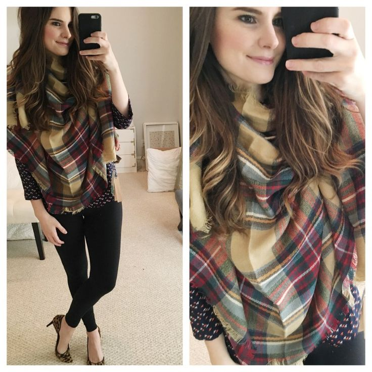 Wouldn't mind a blanket scarf in my next fix!