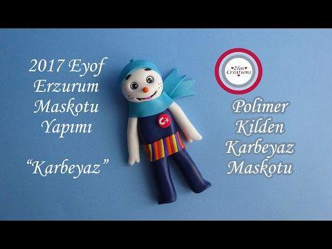 Eyof 2017 Maskot Yapımı, Kış Olimpiyatları Erzurum Maskotu Karbeyaz - YouTube