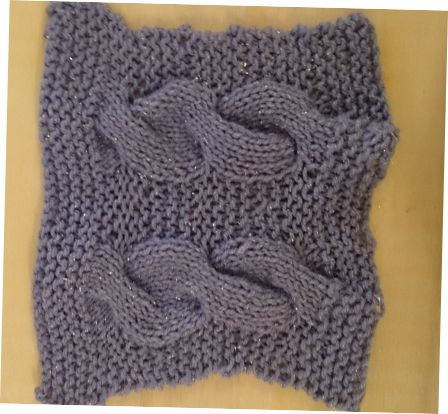 Cable Knitted