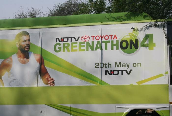 NDTV's Greenathon - An Environment Initiative - starts on 20 May 2012