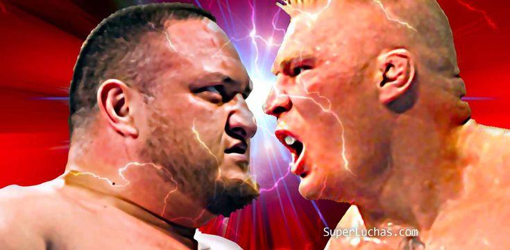 """Brock Lesnar feliz con Samoa Joe por lucha en Great Balls of Fire. Al parecer, todo fue felicidad en """"La Bestia Encarnada"""" luego de su desempeño en el PPV de la noche de ayer domingo 9 de julio de …"""