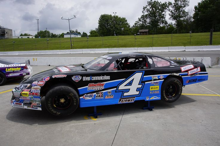 Pete Shepherd put our logo on his racecar, check out the bottom right! So cool!