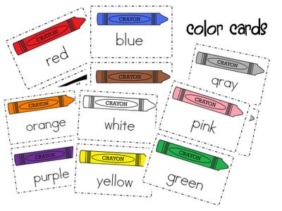 Mrs. Wills Kindergarten: Color Words-FREEBIE