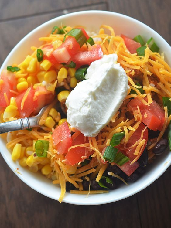 Weight Watchers Burrito Bowls 3 Smart Points – Recipe Diaries