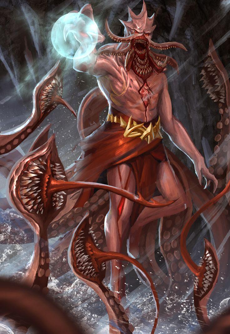 Fotos von Ungeheuer Fantasy Supernatural Wesen Monsters