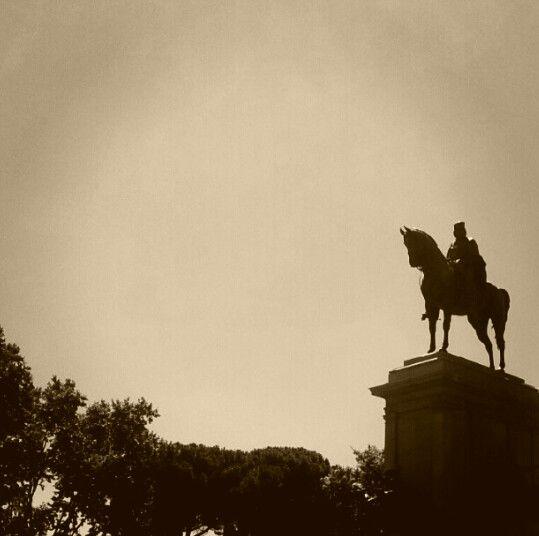 Gianicolo hill, Rome. Photo: J.KARNER 2012