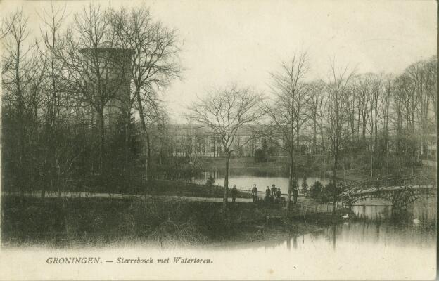 Sterrebos met Watertoren