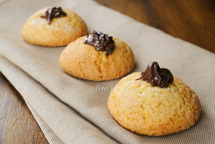 Vulcani alla #nutella #biscotti veloci allo yogurt