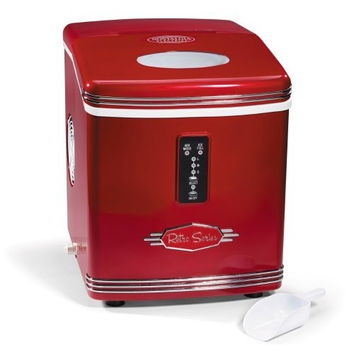 Nostalgia Electrics RIC-100 Retro Series Automatic Ice Maker, would be awesome for the boat!