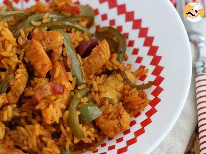 Arroz Con Chorizo Y Azafrán En Olla Express Foto 2 Olla Express Chorizo Platos