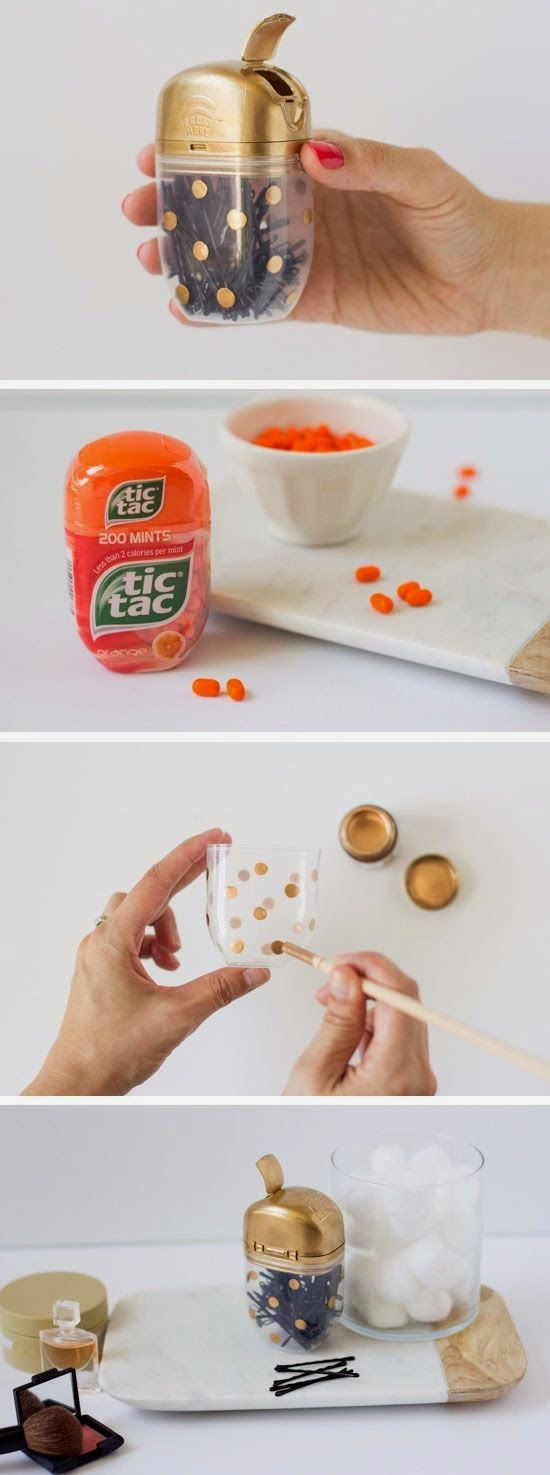 DIY Tic Tac Bobby Pin Case