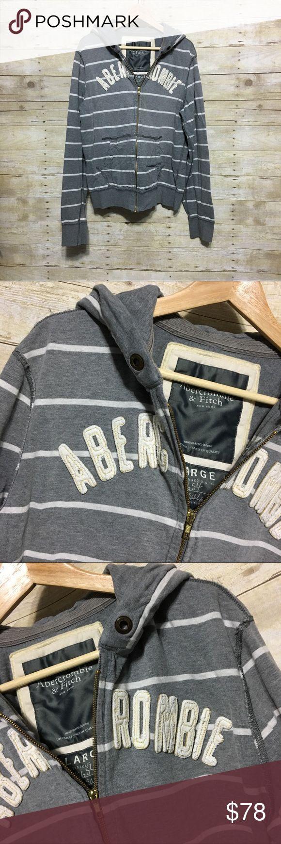 Abercrombie & Fitch appliqué graphic hoodie, sz. L Abercrombie & Fitch appliqué graphic hoodie, sz. L Abercrombie & Fitch Shirts Sweatshirts & Hoodies