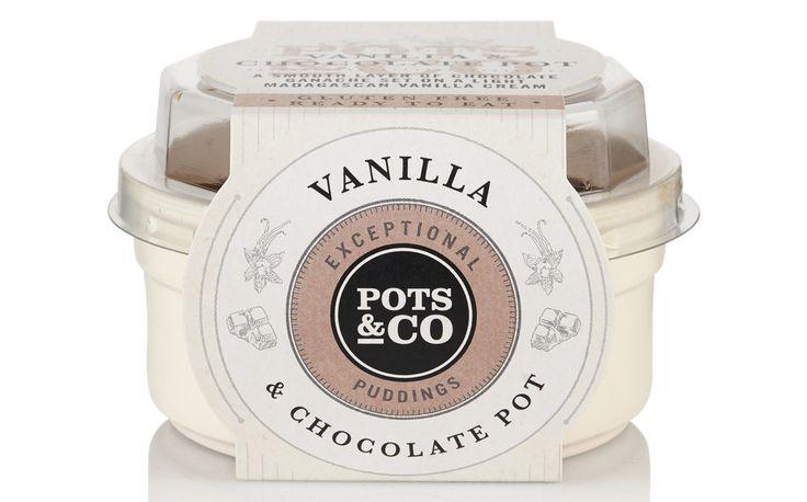 Pots & Co launches seasonal vanilla and chocolate pudding pot