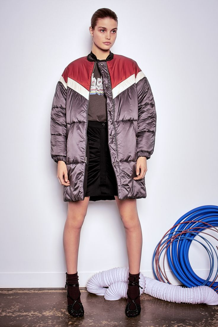 Isabel Marant etoile fall/winter '16 Casey reversible coat black also available in khaki @wendelavandijk_store