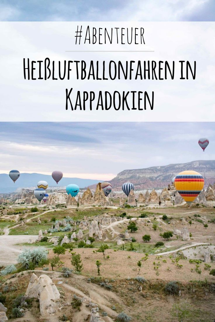 PASSENGER X in Kappadokien - Abenteuer Ballonflug