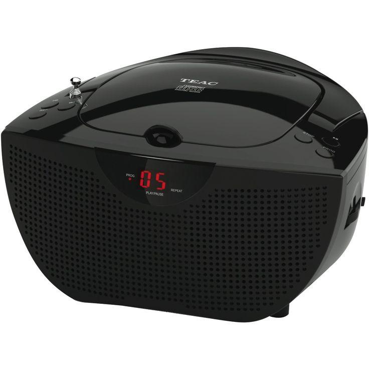 Teac PCD240B Portable CD Player at The Good Guys