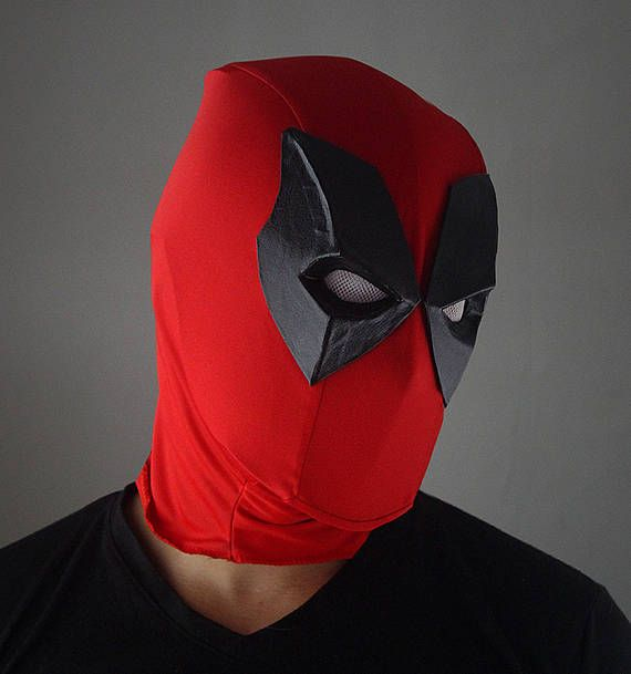 deadpool mask / MÁSCARA de DEADPOOL
