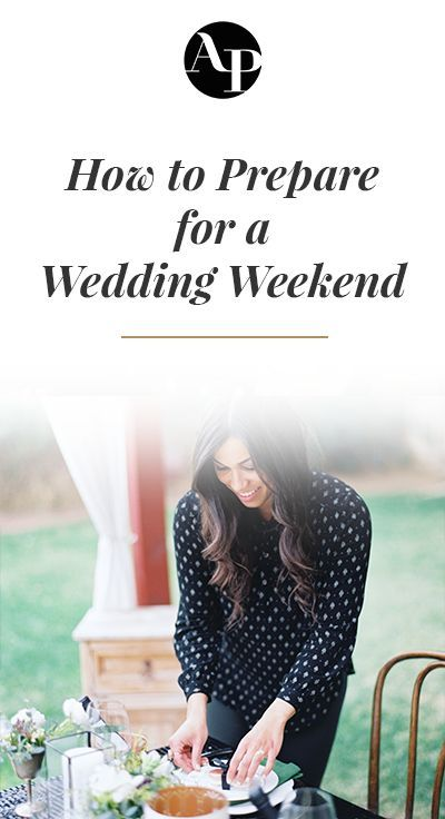 As wedding professionals, we know that weddings are not just the wedding day itself. It takes months of preparation to set yourself up for a successful one; months of work that starts the moment you first meet with your clients and goes through that late night tear down. So today, we wanted to run through some of the most important things to do when mapping out all of your wedding weekend prep. Open up that checklist template of yours and make sure your crunch-time-workflow includes these items!
