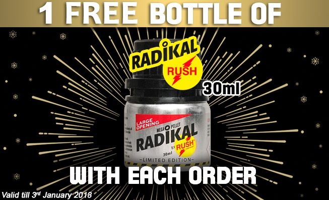 get 1 free bottle of Radikal Rush #Poppers with each order! Only at #poppers_com