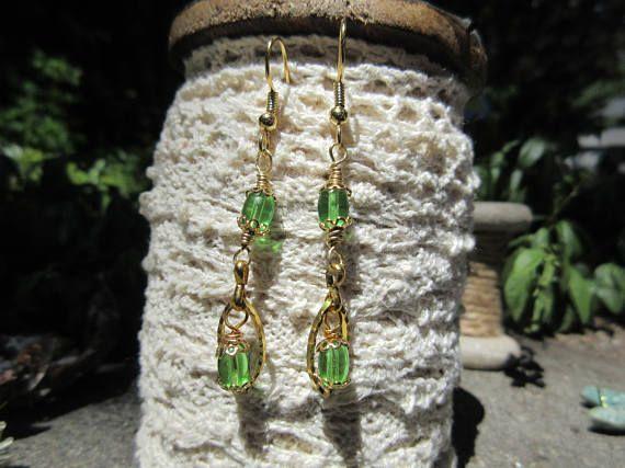 Little lace earrings dangling earrings fancy or casual