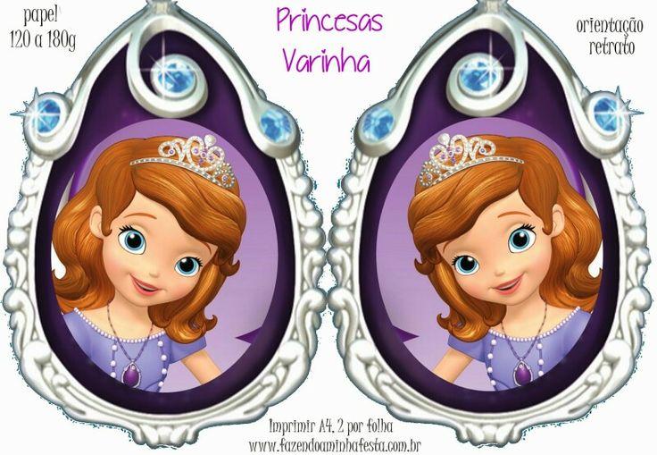 Medallón Princesa Sofía